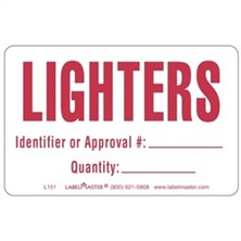 Lighter Labels