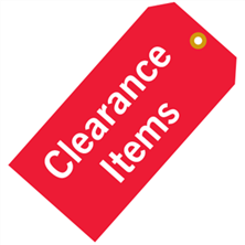 Clearance Items - Save Up to 50%