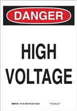 Danger, High Voltage (Vertical)