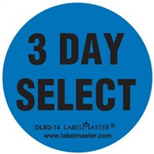 3 Day Select Circle Labels