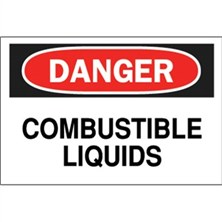 Danger, Combustible Liquids