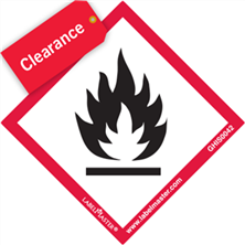 GHS Labels Clearance
