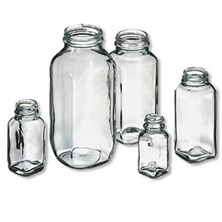 Flint French Square Bottles