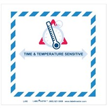 Time And Temperature Labels