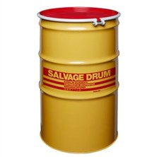 Steel Salvage Drums, Bolt Ring Closure
