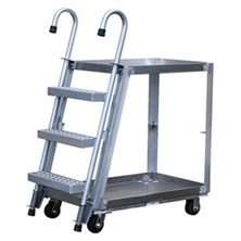 Stock Picker Carts with Ladder