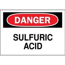 Danger, Sulfuric Acid