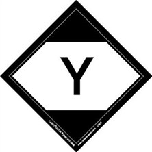 "Limited Quantity Labels, ""Y"""