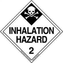 Inhalation Hazard Worded Placards