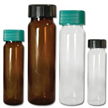 Glass Borosilicate Vials with Caps