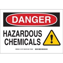 Danger - Hazardous Chemicals (With  Picto) Signs
