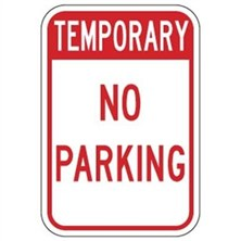 Temporary No Parking