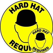 Hard Hat Required Signs