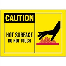 Caution, Hot Surface Do Not Touch