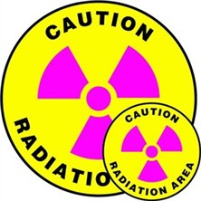 Caution Radiation Signs