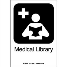 Medical Library Signs