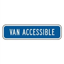 Van Accessible (Blue, Short)