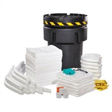 95-Gallon Salvage Drum Recycled Material Spill Kits