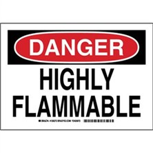 Danger - Highly Flammable Signs