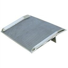 5-10,000-lb. Aluminum Dockboards With Weld Curbs