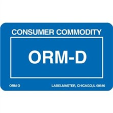 ORM-D Labels