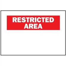 Restricted Area, Blank