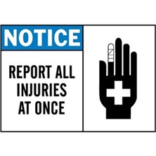 Notice, Report All Injuries At Once