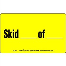 Skid Of Labels