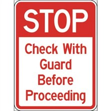Stop Check With Guard Before Proceeding