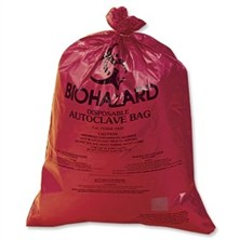 Biohazard Disposal Bags, Standard Weight