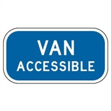 Van Accessible (Blue, Medium)