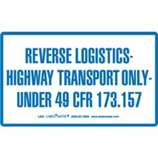 Reverse Logistics Markings