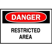 Danger, Restricted Area