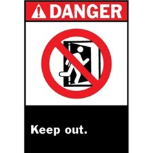 Ansi Danger, Keep Out