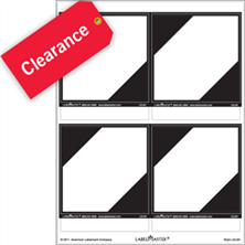 Labels Clearance Items - Save Up to 50%