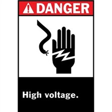Ansi Danger, High Voltage