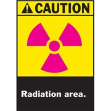 Radiation With pictogram, Blank