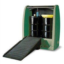 Eco-Efficient Spill Pallets with Roll-Top Hardcovers