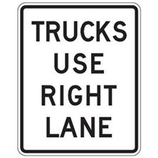 Trucks Use Right Lane