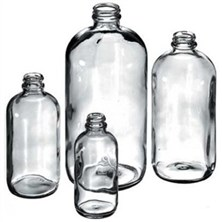 Boston Round Narrow Mouth Bottles