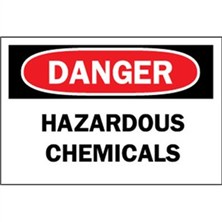Danger, Hazardous Chemicals
