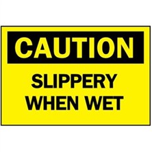 Caution, Slippery When Wet