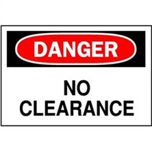Danger, No Clearance