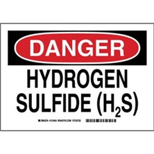 Hydrogen Sulfide (H2S) Signs