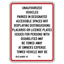 Unauthorized Vehicles
