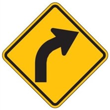Warning Curve Signs