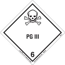 Worded PG III Labels