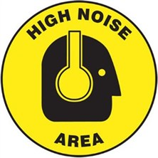 High Noise Area Signs