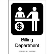 Billing Department Signs