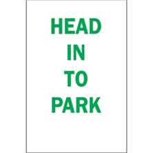 Head In To Park